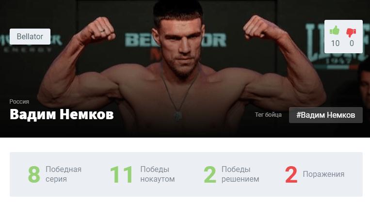 Прогноз на бой Вадим Немков – Юлиус Англикас